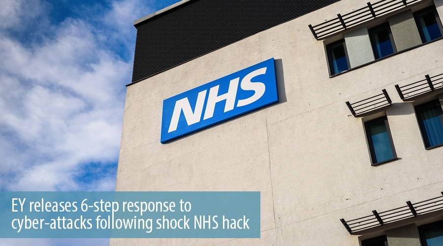 EY releases 6-step response to cyber-attacks following shock NHS hack