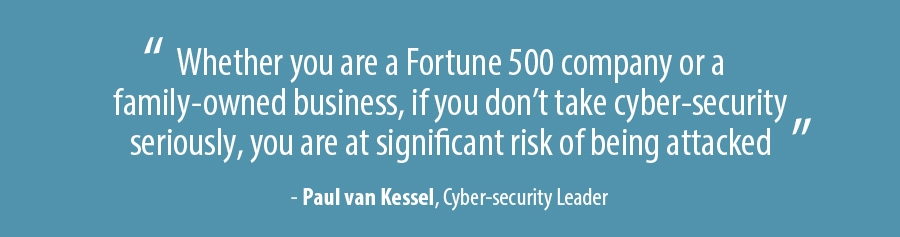 Paul van Kessel, Cyber-security Leader