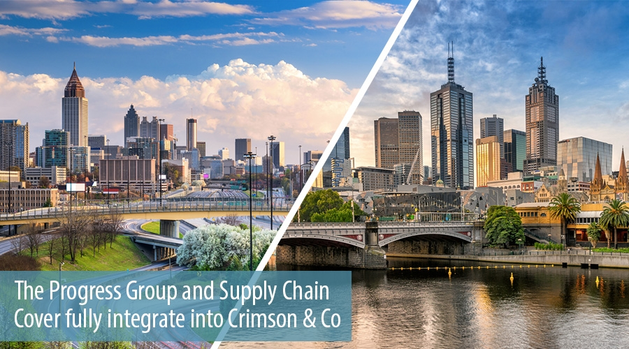 The Progress Group and Supply Chain Cover fully integrate into Crimson & Co