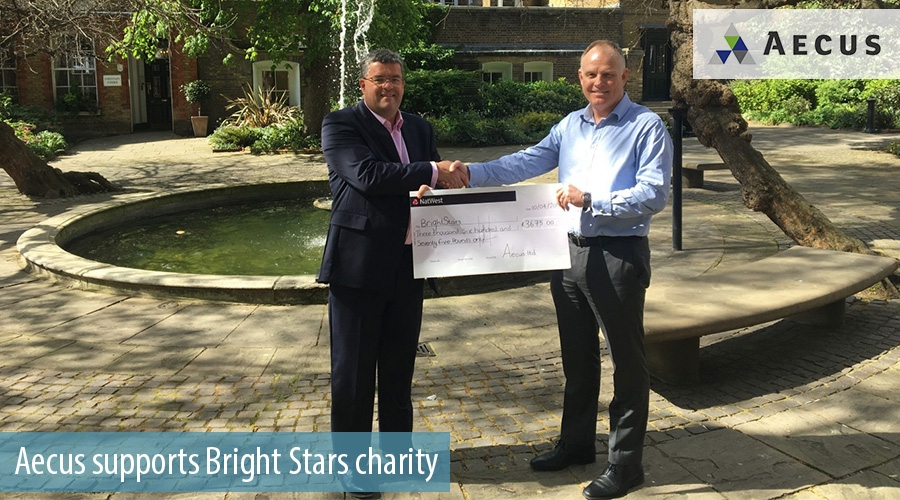 Aecus supports Bright Stars charity