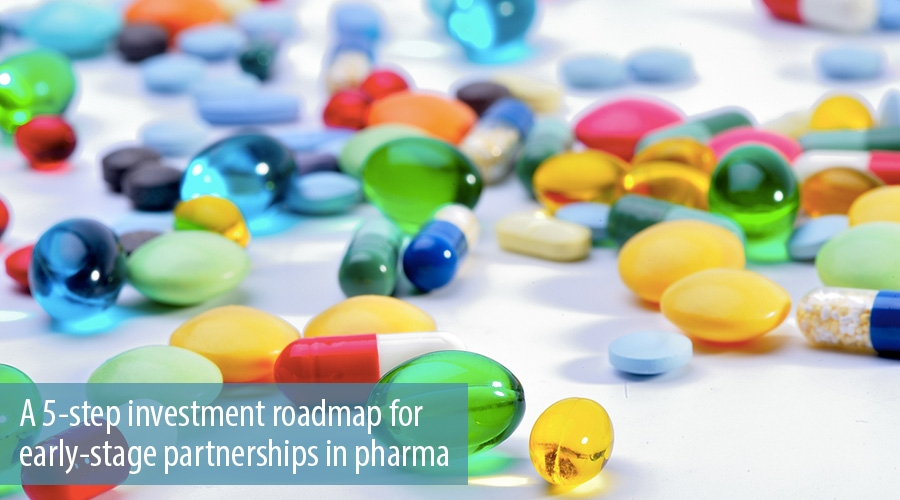 A 5-step investment roadmap for early-stage partnerships in pharma