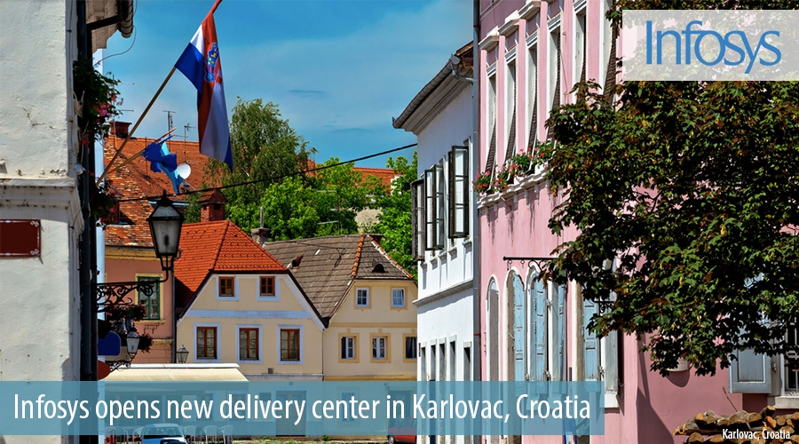 Infosys opens new delivery center in Karlovac, Croatia