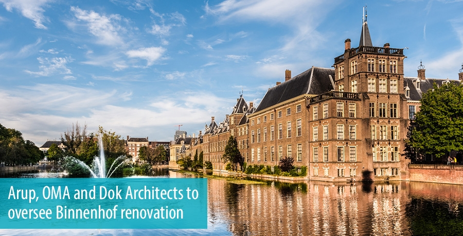 Arup, OMA and Dok Architects to oversee Binnenhof renovation