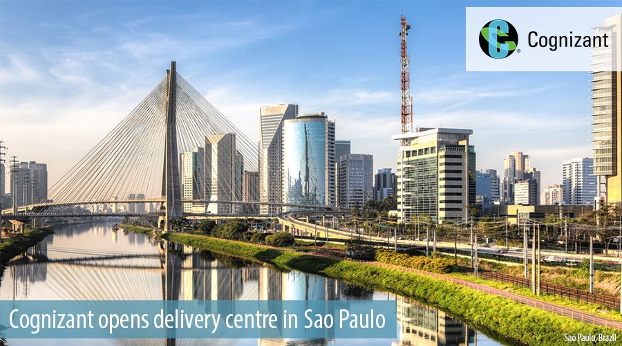 Cognizant opens delivery centre in Sao Paulo