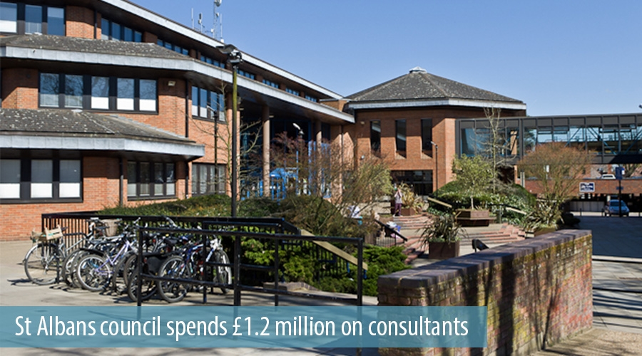 St Albans Council Spends £1.2 million on Consultants
