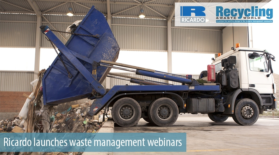 Ricardo launches waste management webinars