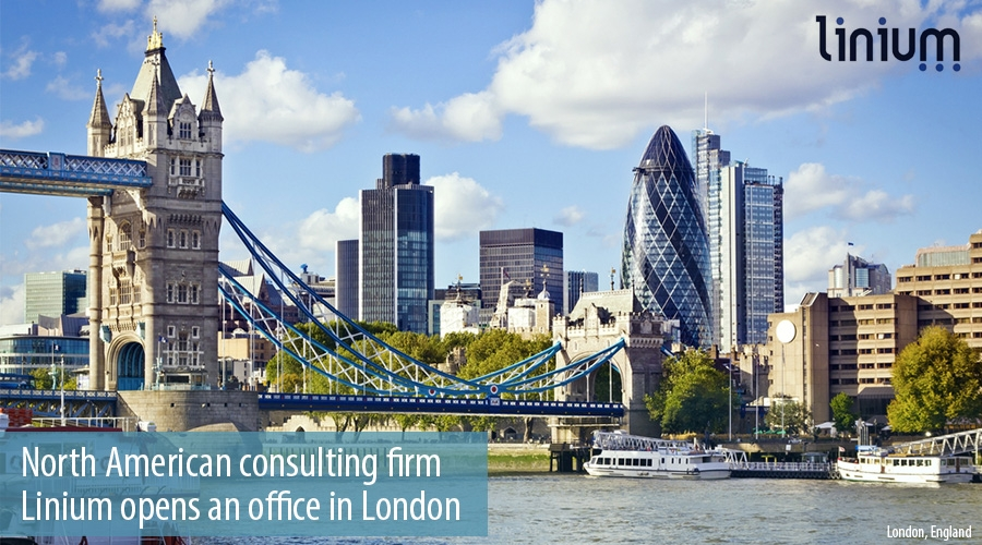 North American consulting firm  Linium opens an office in London