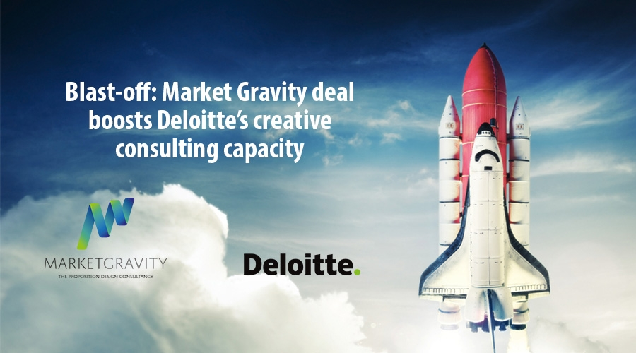Blast-off: Market Gravity deal boosts Deloittes creative consulting capacity
