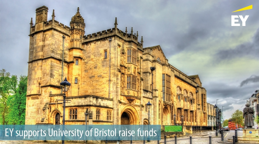 EY supports University of Bristol raise funds