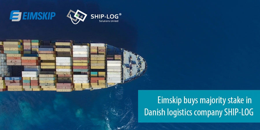 Eimskip buys majority stake in Danish logistics company SHIP-LOG