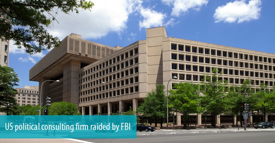 US political consulting firm raided by FBI