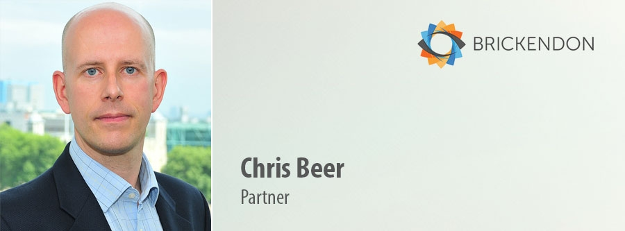 Chris Beer, Partner bij Brickendon Consulting