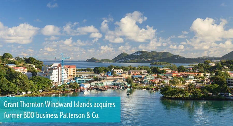 Grant Thornton Windward Islands acquires Patterson & Co