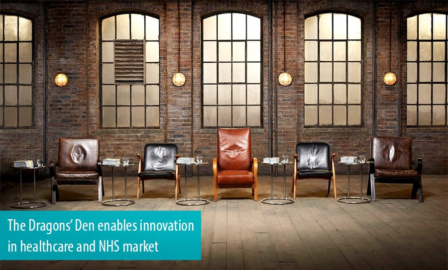The Dragons Den enables innovation in healthcare and NHS market