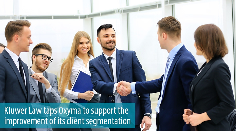 Kluwer Law taps Oxyma to support the improvement of its client segmentation