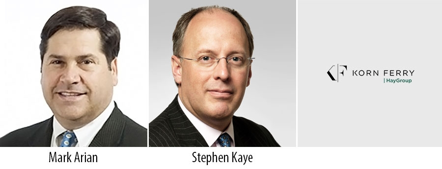 Mark Arian and Stephen Kaye - Korn Ferry Hay Group