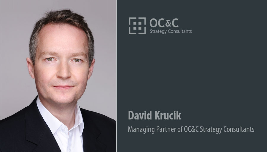 David Krucik, Managing Partner of OC&C Strategy Consultants