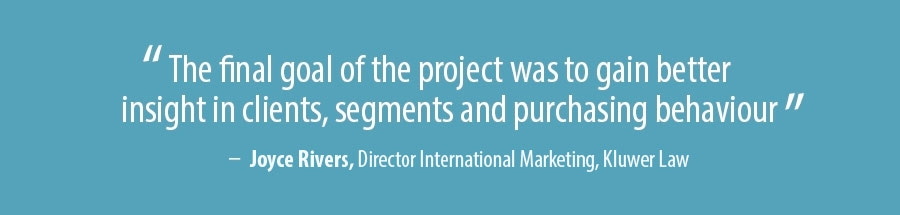 Quote Joyce Rivers, Director International Marketing - Kluwer Law