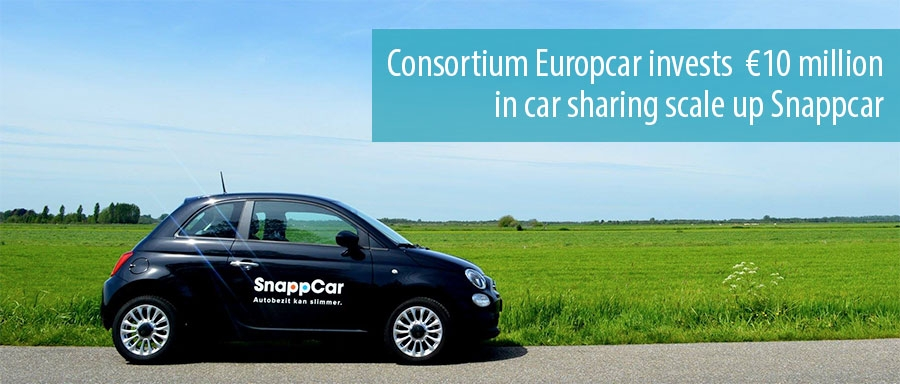 Consortium Europcar invests 10 million in car sharing scale up Snappcar