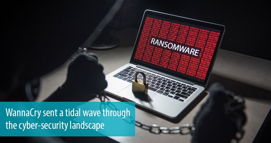 WannaCry sent a tidal wave through the cyber-security landscape