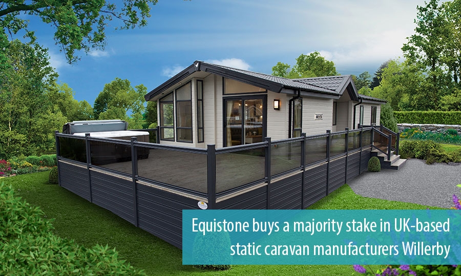 Equistone buys a majority stake in UK-based static caravan manufacturers Willerby