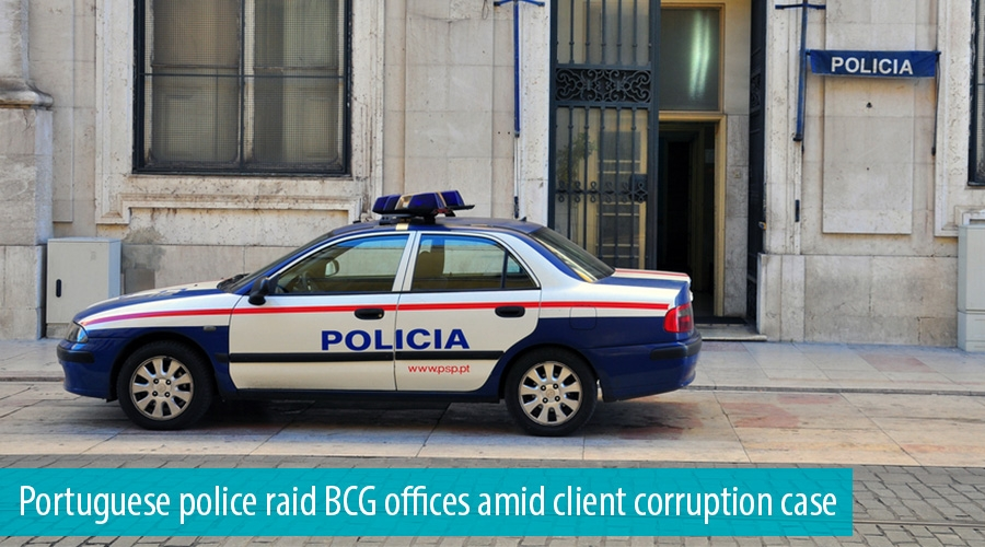 Portuguese police raid BCG offices amid client corruption case