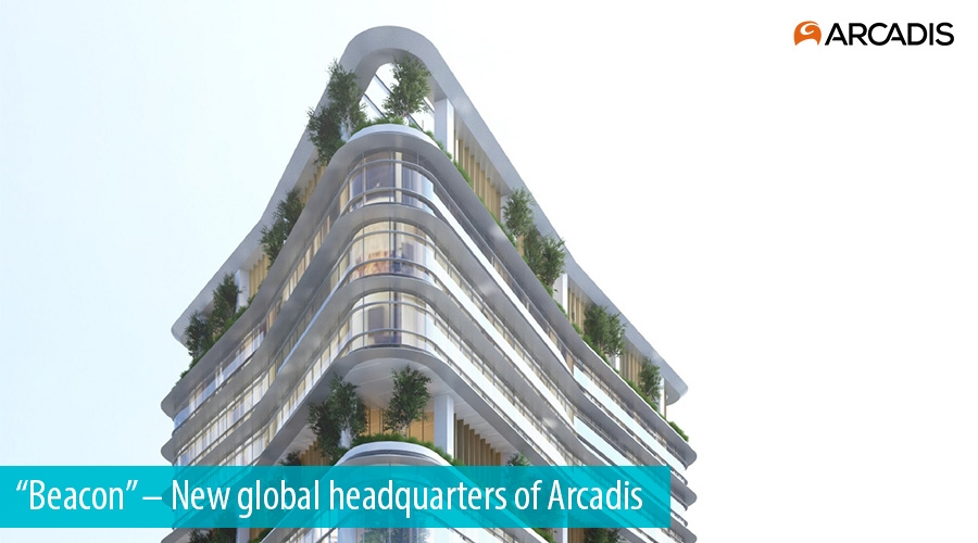 """Beacon"" – New global headquarters of Arcadis"