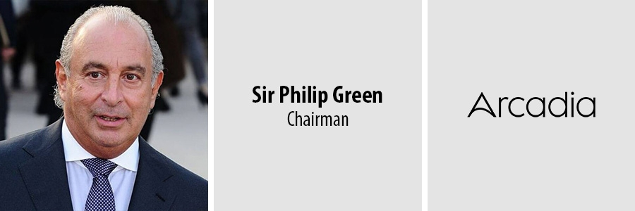 Sir Philip Green - Arcadia