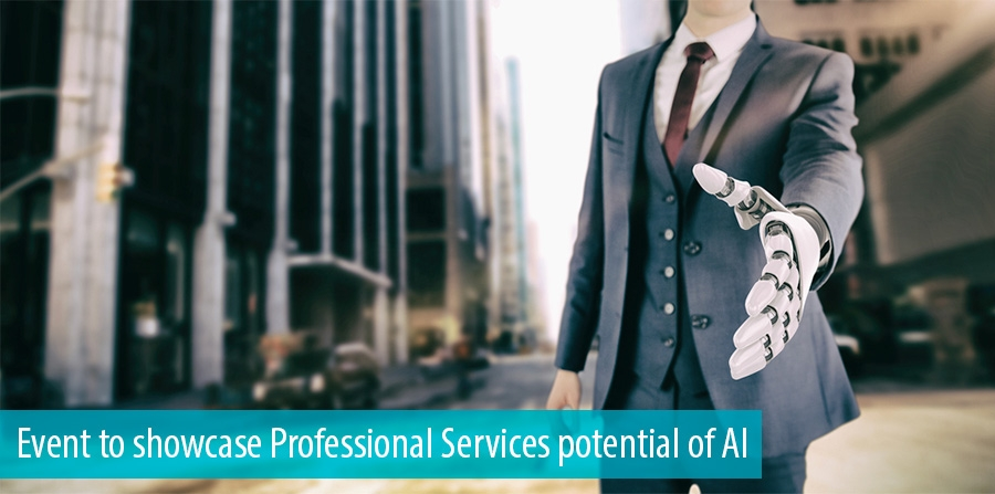 Event to showcase Professional Services potential of AI
