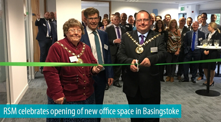 RSM celebrates opening of new office space in Basingstoke
