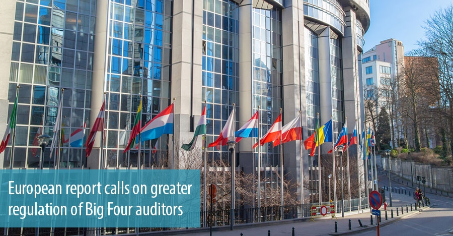 European report calls on greater regulation of Big Four auditors