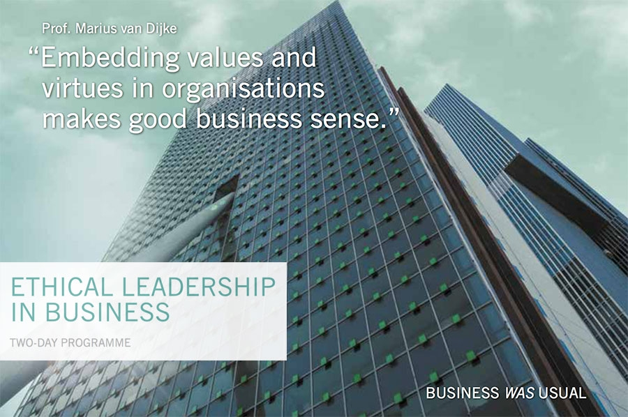 RSM - Ethical Leadership in Business programme