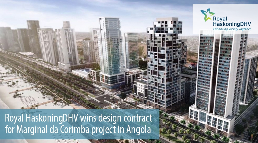 Royal HaskoningDHV wins design contract for Marginal da Corimba project in Angola