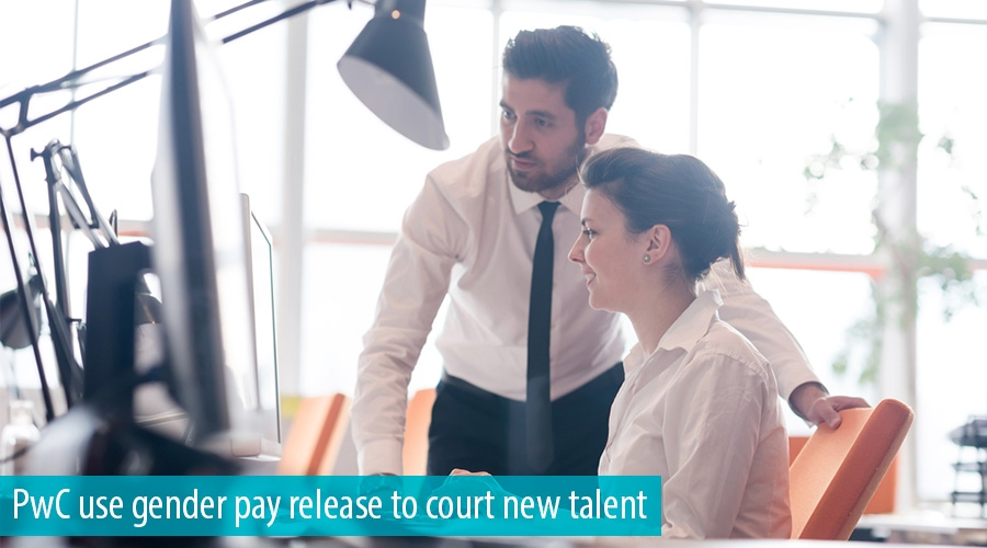 PwC use gender pay release to court new talent