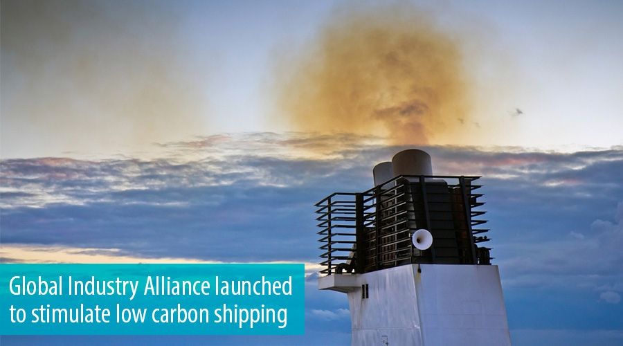 Global Industry Alliance launched to stimulate low carbon shipping