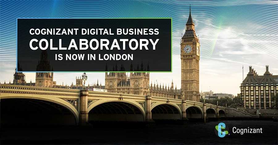 Cognizant opens Collaboratory lab in London, second in Europe