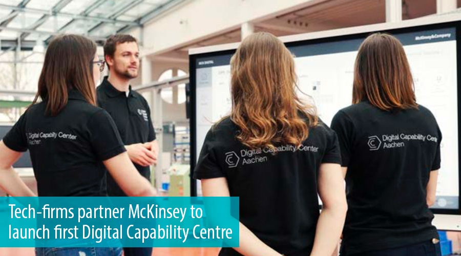 Tech-firms partner McKinsey to launch first Digital Capability Centre