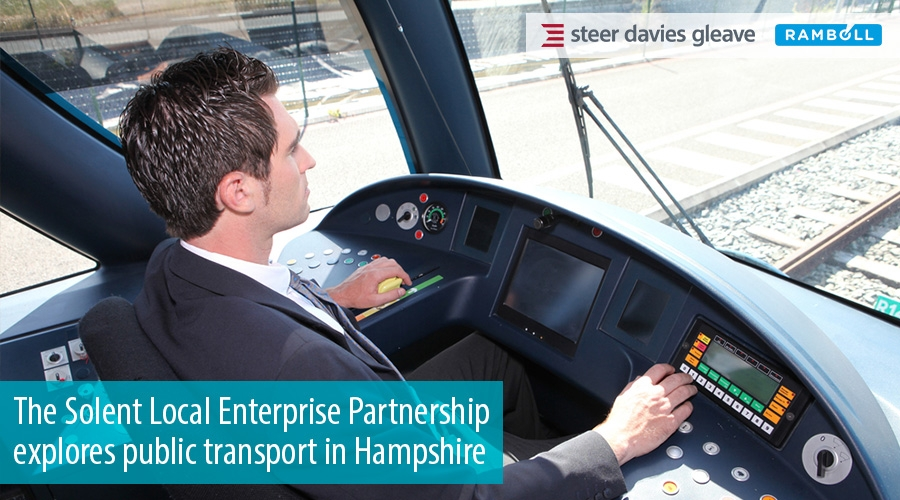 The Solent Local Enterprise Partnership explores public transport in Hampshire