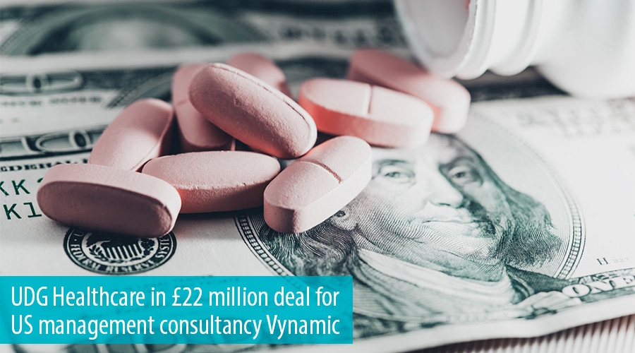 UDG Healthcare in £22 million deal for US management consultancy Vynamic