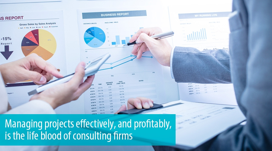 Managing projects effectively, and profitably, is the life blood of consulting firms