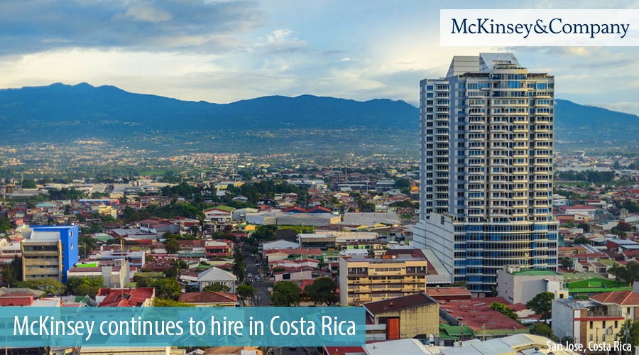 McKinsey continues to hire in Costa Rica