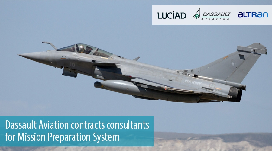 Dassault Aviation contracts consultants for Mission Preparation System