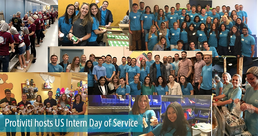 Protiviti hosts US Intern Day of Service