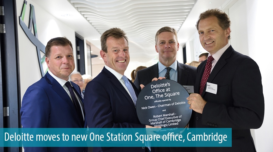 Deloitte moves to new One Station Square office, Cambridge