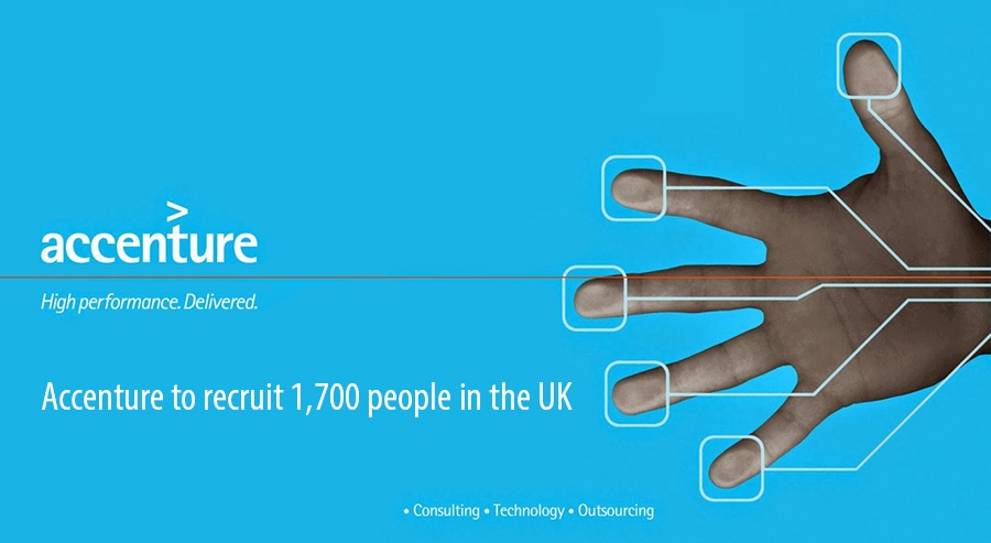 Accenture to recruit 1700 people in the UK
