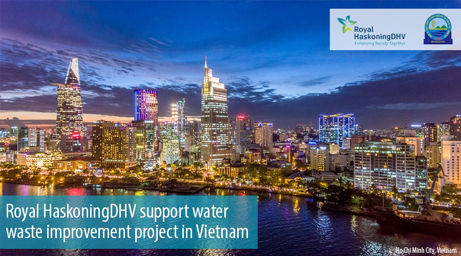 Royal HaskoningDHV support water waste improvement project in Vietnam