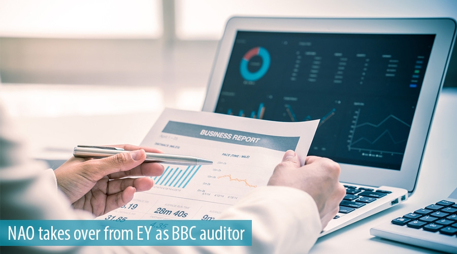 NAO takes over from EY as BBC auditor