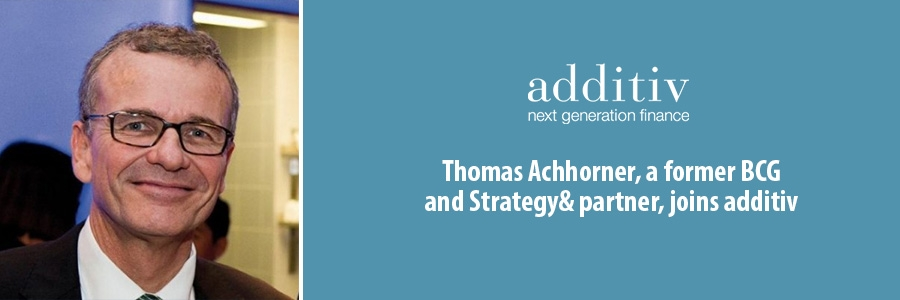 Thomas Achhorner, a former BCG and Strategy& partner, joins additiv