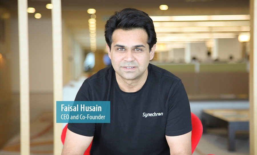 Faisal Husain, CEO and Co-Founder of Synechron