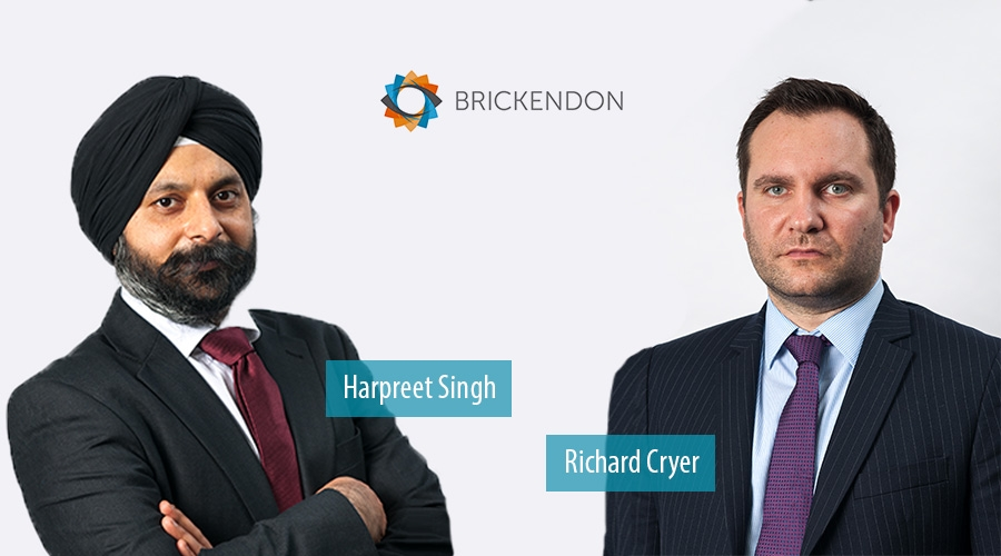 Harpreet Singh and Richard Cryer - Brickendon